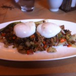 duck confit & potato hash